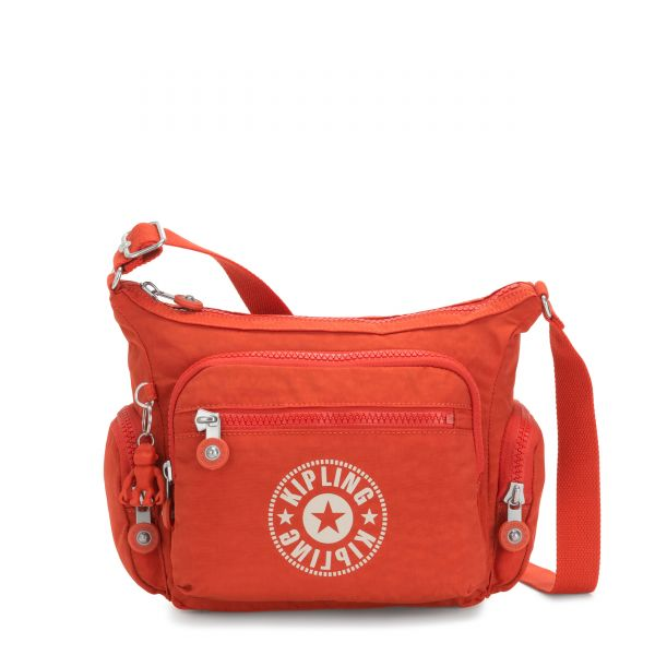 GABBIE S Funky Orange Nc CROSSBODY by Kipling Front