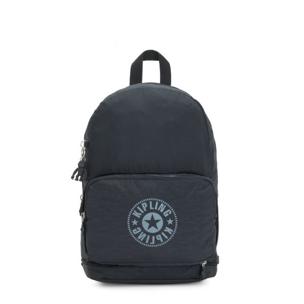 CLASSIC NIMAN FOLD Lively Navy BACKPACKS by Kipling Front
