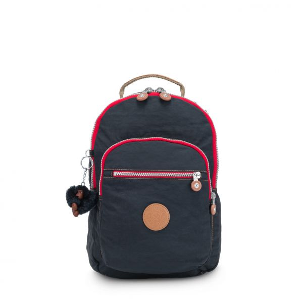CLAS SEOUL S True Navy C BACKPACKS by Kipling Front