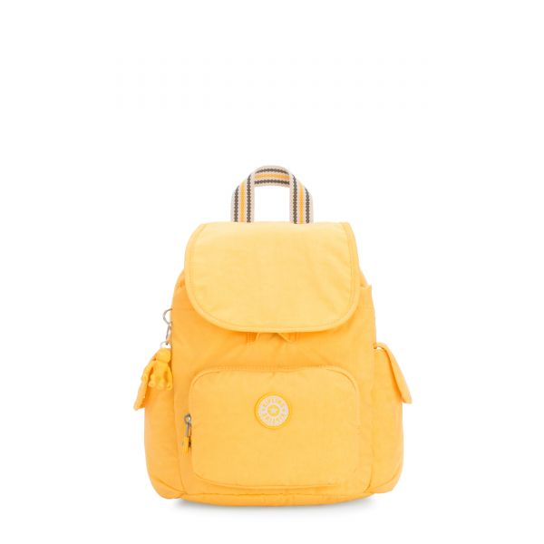 CITY PACK MINI Vivid Yellow BACKPACKS by Kipling Front