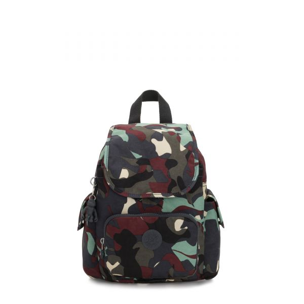 CITY PACK MINI Camo Large BACKPACKS by Kipling Front