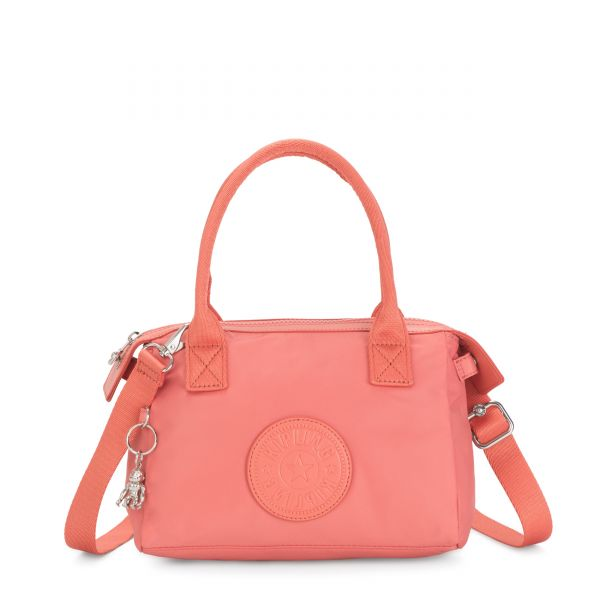LERIA Coral Pink SHOULDERBAGS by Kipling Front