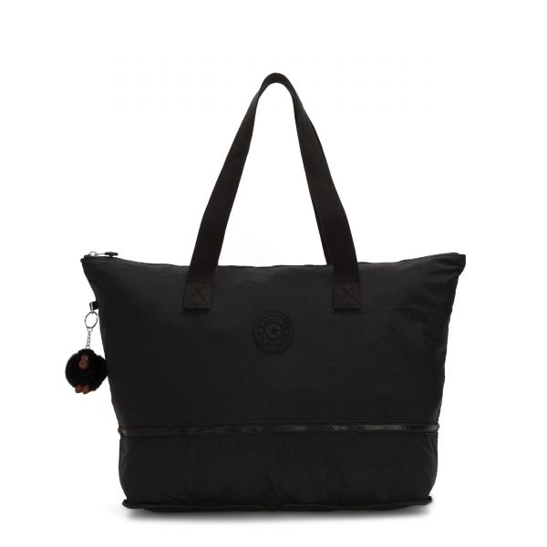 IMAGINE PACK True Black TOTE by Kipling Front