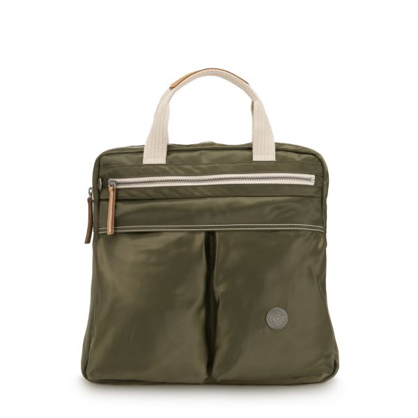 KOMORI S Elevated Green BACKPACKS by Kipling Front