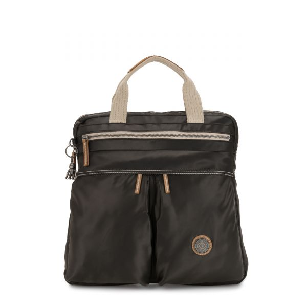KOMORI S Delicate Black BACKPACKS by Kipling Front