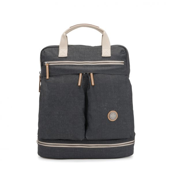 KOMORI M Casual Grey BACKPACKS by Kipling Front