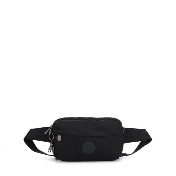 HALIMA Rich Black CROSSBODY by Kipling Front
