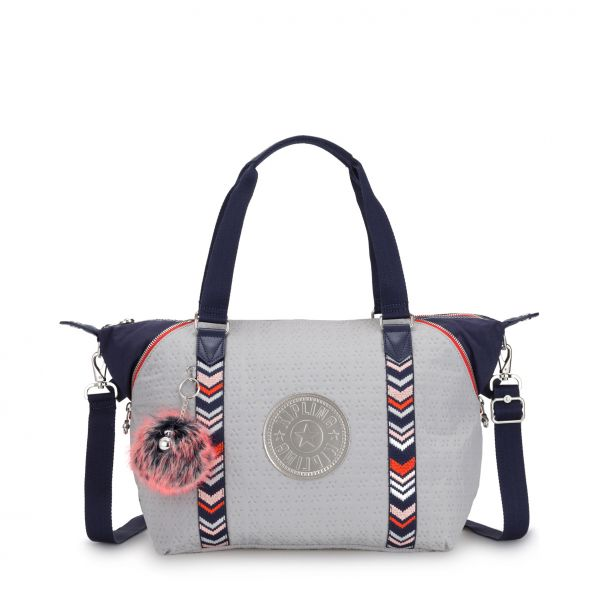 ART New Grey Emb Bl TOTE by Kipling Front