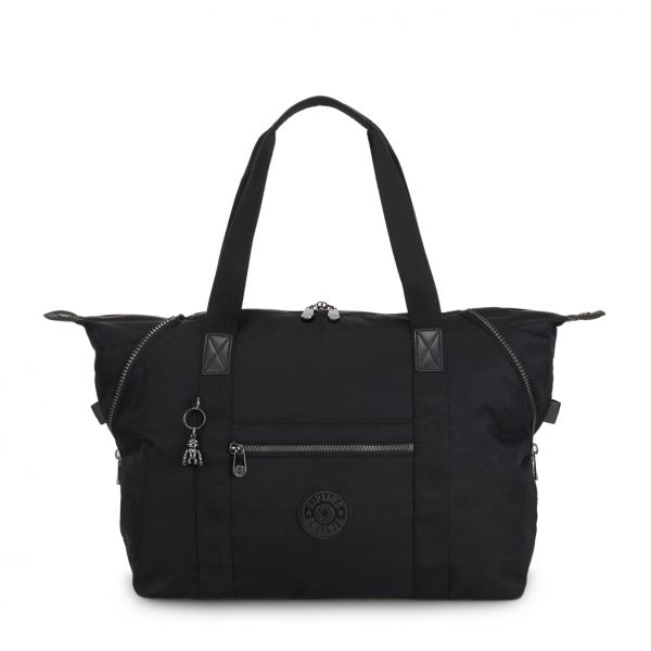 ART M Rich Black TOTE by Kipling Front