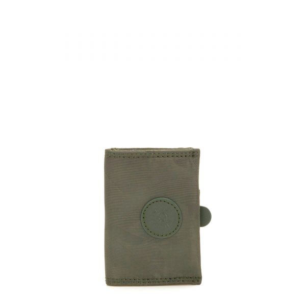 CARD KEEPER Satin Camo WALLETS by Kipling Front