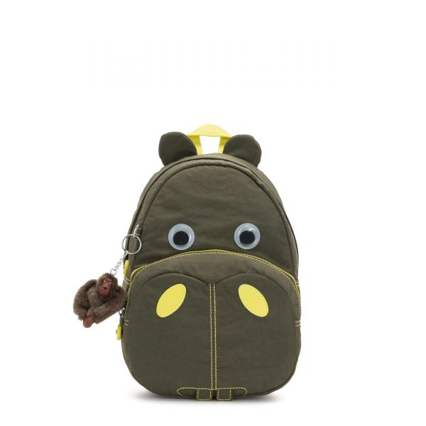 HIPPO Garden Grey C BACKPACKS by Kipling Front
