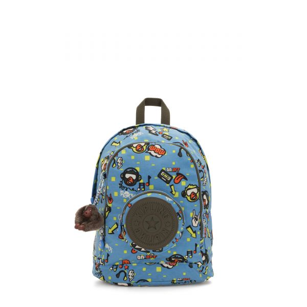 CARLOW Monkey Rock BACKPACKS by Kipling Front