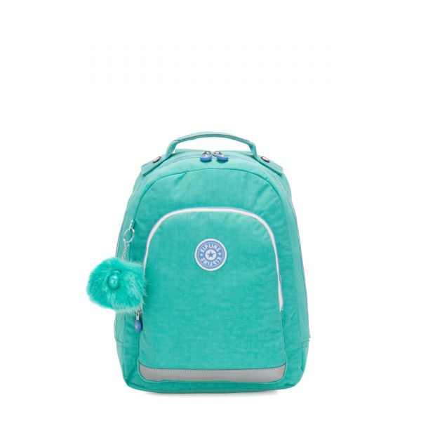 CLASS ROOM S Deep Aqua C BACKPACKS by Kipling Front