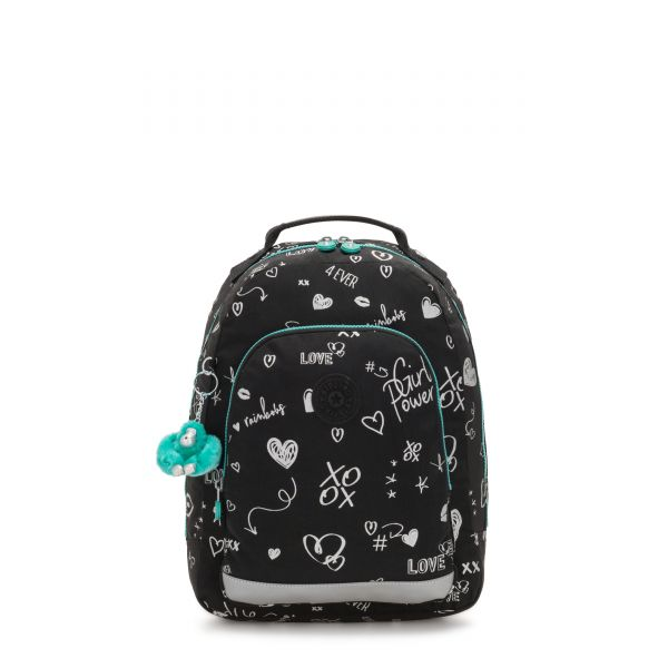 CLASS ROOM S Girl Doodle BACKPACKS by Kipling Front