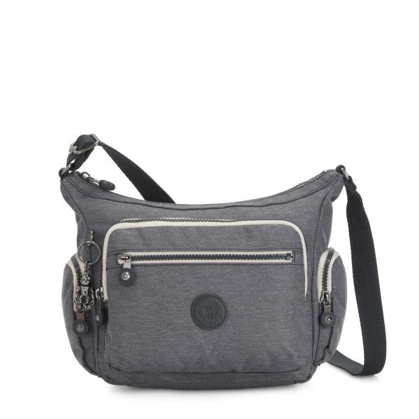 GABBIE S Charcoal CROSSBODY by Kipling Front
