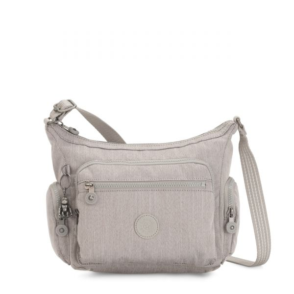 GABBIE S Grey Beige Peppery CROSSBODY by Kipling Front