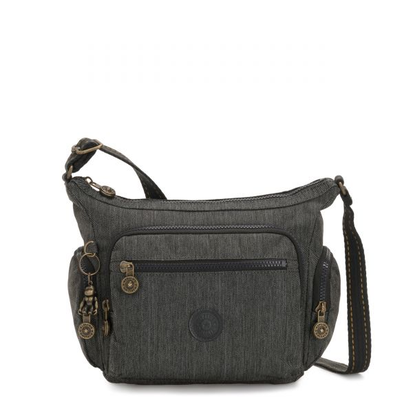GABBIE S Black Indigo CROSSBODY by Kipling Front