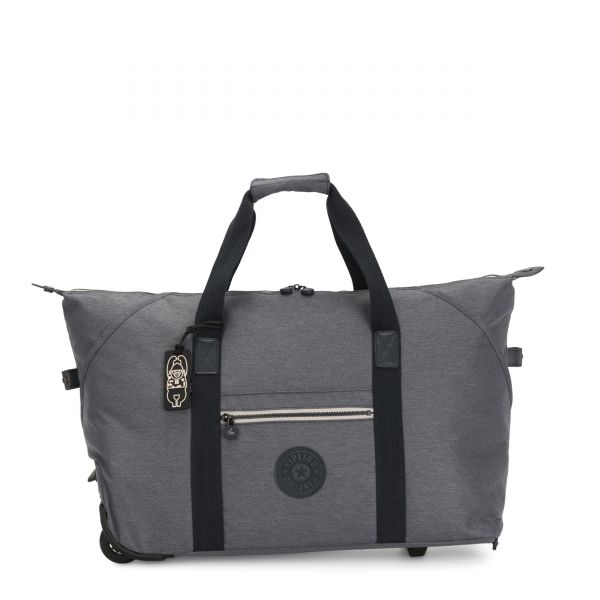ART ON WHEELS M Charcoal CARRY ON by Kipling Front