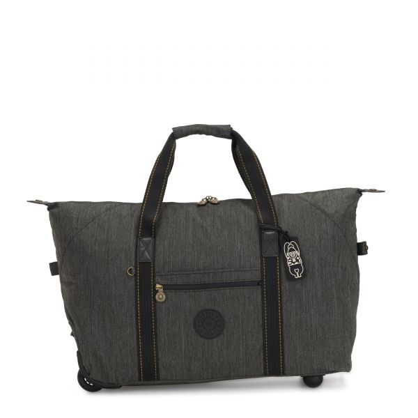 ART ON WHEELS M Black Indigo CARRY ON by Kipling Front