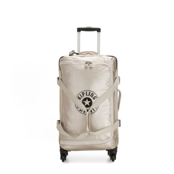 CYRAH M Cloud Metal Combo UPRIGHT by Kipling Front