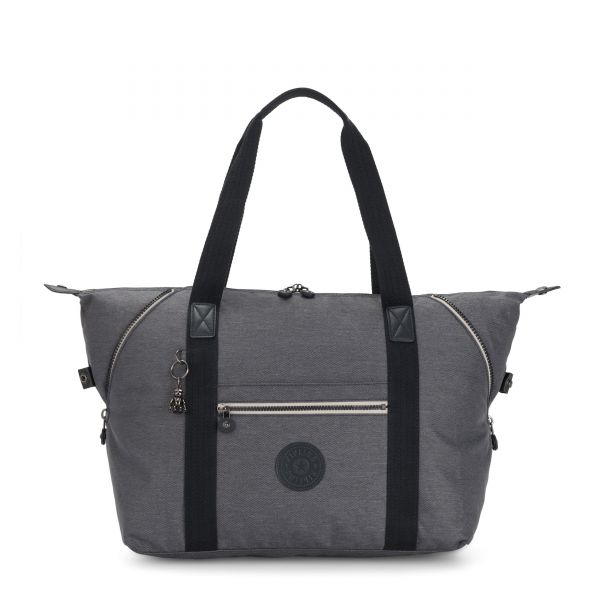 ART M Charcoal TOTE by Kipling Front