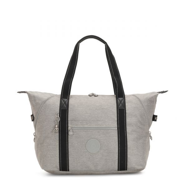 ART M Chalk Grey TOTE by Kipling Front