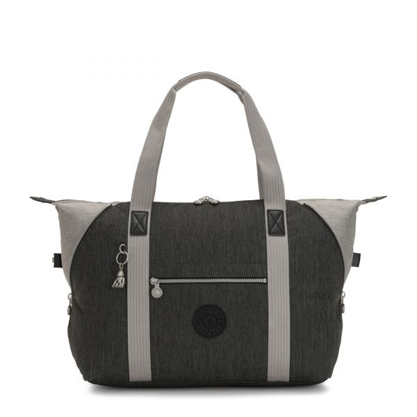 ART M Black Indigo Block TOTE by Kipling Front