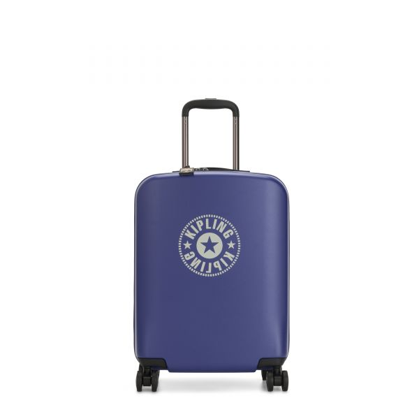 CURIOSITY S Laser Blue CARRY ON by Kipling Front