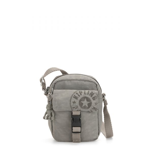 TEDDY Rapid Grey CROSSBODY by Kipling Front