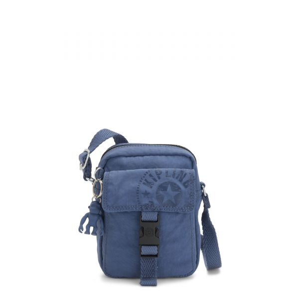 TEDDY Soulfull Blue CROSSBODY by Kipling Front