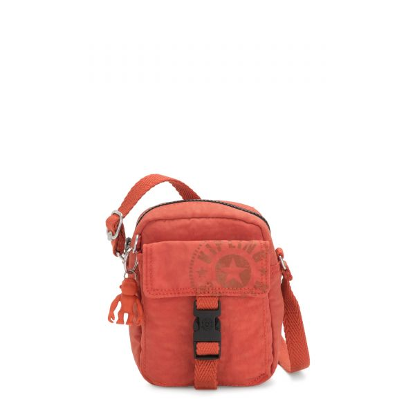 TEDDY Hearty Orange CROSSBODY by Kipling Front