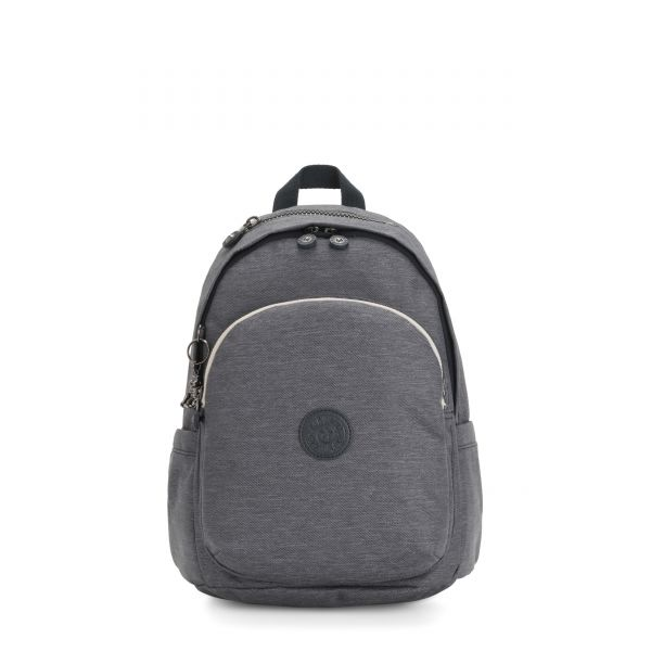 DELIA Charcoal BACKPACKS by Kipling Front