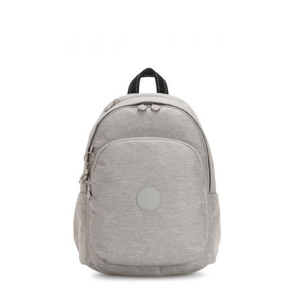 DELIA Chalk Grey BACKPACKS by Kipling Front