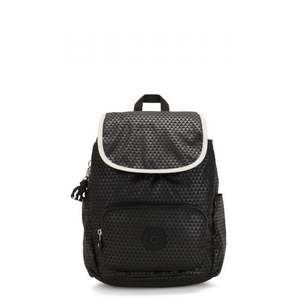 HANA S Black Club C BACKPACKS by Kipling Front
