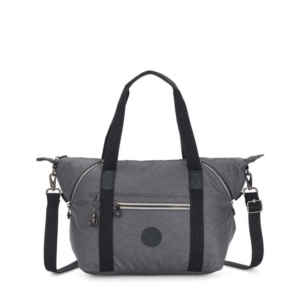 ART Charcoal TOTE by Kipling Front