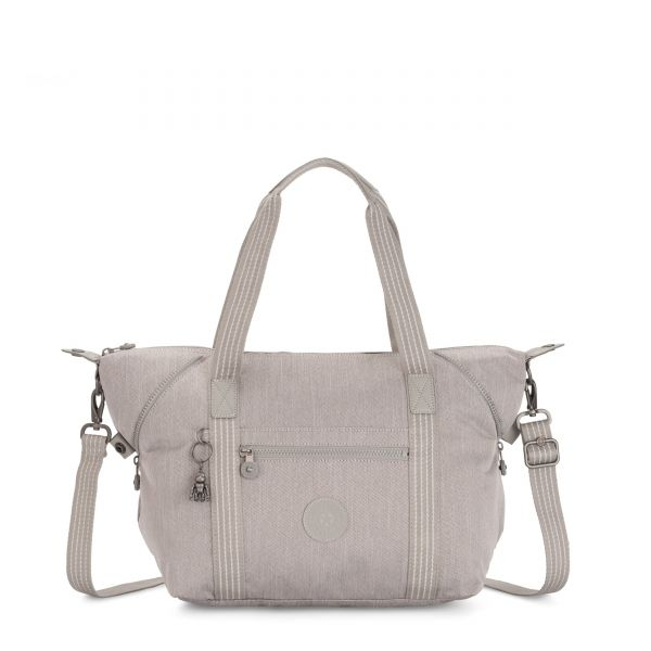 ART Grey Beige Peppery TOTE by Kipling Front