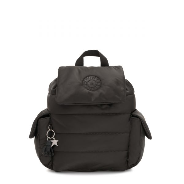 MANITO Cold Black BACKPACKS by Kipling Front