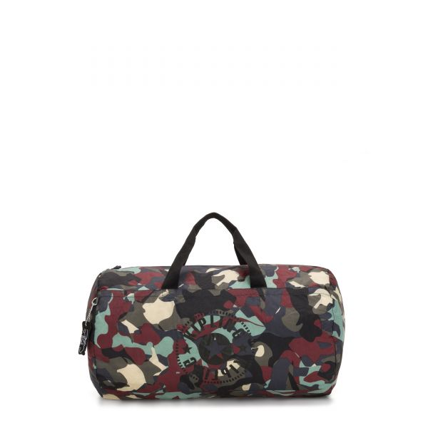 ONALO PACKABLE Camo Large Light WEEKENDER by Kipling Front