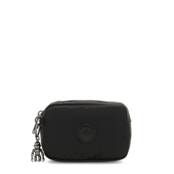 GLEAM S Rich Black POUCHES/CASES by Kipling Front