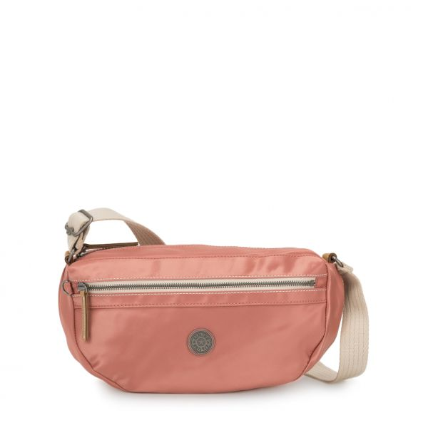 SENRA Delicate Pink CROSSBODY by Kipling Front