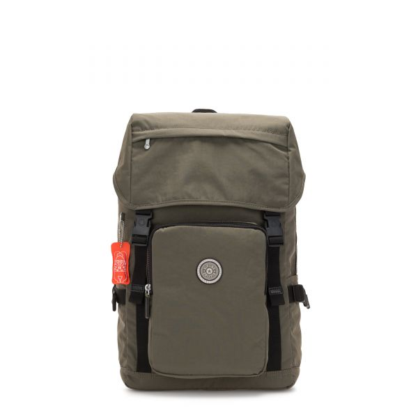 YANTIS Cool Moss BACKPACKS by Kipling Front
