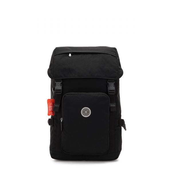 YANTIS Brave Black BACKPACKS by Kipling Front