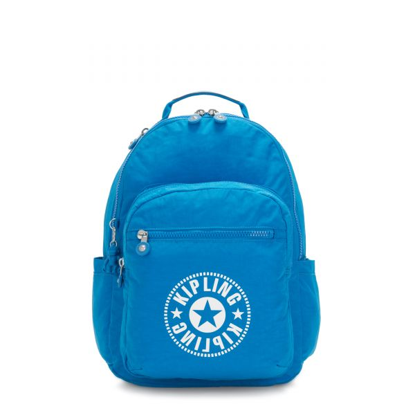 SEOUL Methyl Blue Nc BACKPACKS by Kipling Front