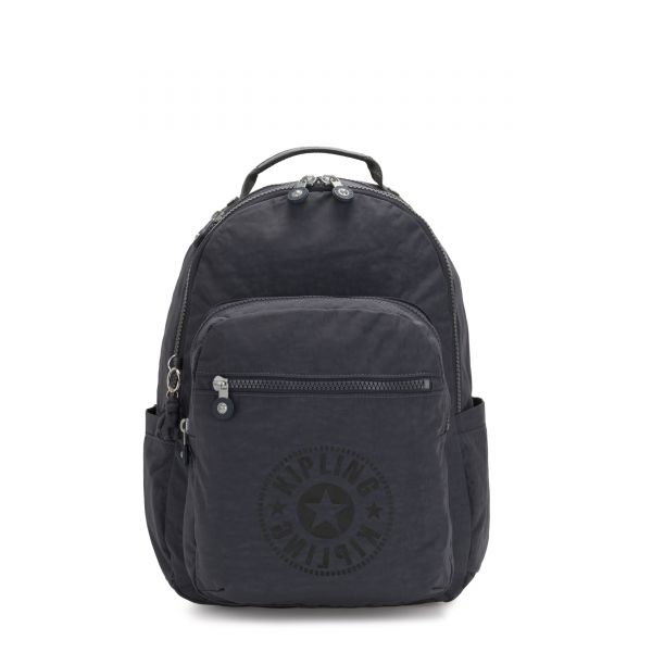 SEOUL Night Grey Nc BACKPACKS by Kipling Front