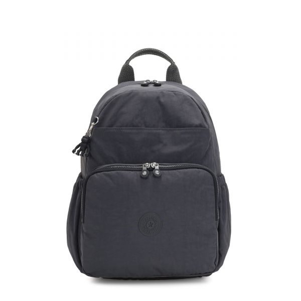 MAISIE Night Grey BABY BACKPACKS by Kipling Front