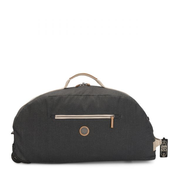 DEVIN ON WHEELS Casual Grey CARRY ON by Kipling Front