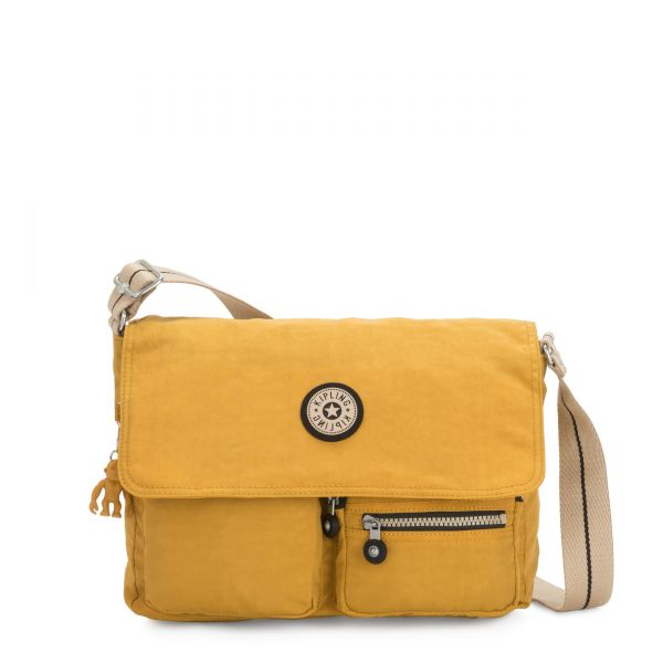 ODETT Spicy Yellow CROSSBODY by Kipling Front
