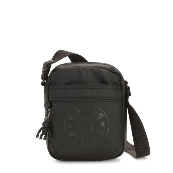 HISA Raw Black CROSSBODY by Kipling Front