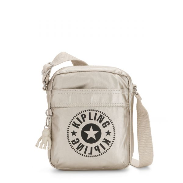 HISA Cloud Metal Combo CROSSBODY by Kipling Front
