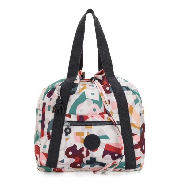 ART BACKPACK S Music Print BACKPACKS by Kipling Front